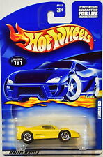 HOT WHEELS 2000 FERRARI F50 #161 YELLOW NEW CARD