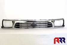 NEW GRILLE CHROME & GRAY TOYOTA HILUX 2WD 10/97-10/01
