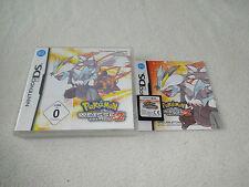 Pokemon weisse-Edition 2 weiss 2 DS Nintendo DS Spiel komplett mit OVP&Anleitung