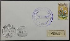 Falklands 1974 Cover, Joint Declaration of Buenos Aires, Taiyo Maru Cachet