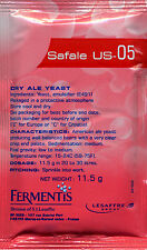 Safale US-05 Ale Yeast, 11.5g