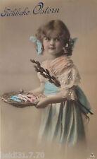 """""""Ostern, Kinder, Korb, Ostereier""""  1911 ♥   (17230)"""