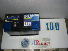 600-0 BATTERIA ACCUMULATORI (BATTERIES) UNIBAT  100ah AGRIFUL-FIAT-FORD-IVECO