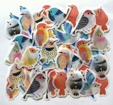 Lovely Kawaii Cute Animal Bird Flake Sticker 60 Scrapbook Letter Gift Kids JAPAN