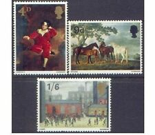 Great Britain 1967 PAINTINGS (3) SG 748-750 Unhinged Mint
