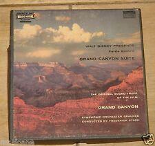 FREDERICK STARK WALT DISNEY GRAND CANYON REEL TO REEL AUDIO MUSIC TAPE 7 1/2 IPS
