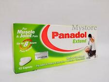Panadol Extend - 12 Sustained Release Caplets For Muscle And Joint Pain