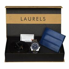 Laurels Watch, Wallet & Belt Combo - (Polo-504-BER-07)