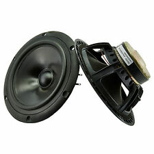 Peerless M16NH 185mm hifi bass speaker woofers NOS 4ohm