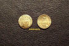 mini Peso OR GE Emperador Maximiliano Gold 1865 Mexico