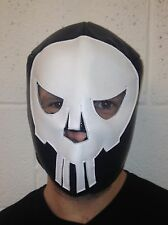 Lucha Libre Mexican Wrestling Mask fancy dress Punisher Cross Bones Halloween