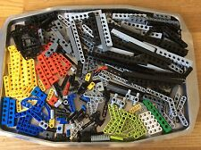 LEGO TECHNIC BEAMS, RODS, CONNECTORS, AXELS, MINDSTORM 250 PARTS/PIECES -4958
