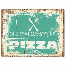 PP0937 PIZZA Parking Plate Chic Sign Home Restaurant Kitchen Decor Gift