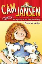 The Mystery of the Television Dog No. 4 by David A. Adler (2004, Paperback)