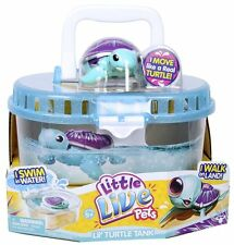 Character - Little Live Pets Turtle Tank - Series 3 with Shine - New