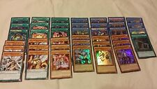 YuGiOh Nekroz Deck 40 Cards Tournament Gungnir Kaleidoscope Free Booster Pack!