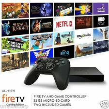 2015 Amazon Fire TV 4K Gaming Edition Streaming Media Player + Controller NEW