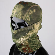 Maschera Prottetiva Tattica Elastica Verde Airsoft Paintball CS Outdoor Sport