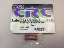 Team CRC Alum Front Pivot Mount For A Team Losi Mini-T Part#4700 Red