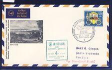 53448) LH FF Düsseldorf - New York 1.4.67, SoU ab Berlin EF 50PF Wofa