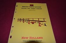 New Holland 560 Vibra Feeder Dealer's Parts Book Manual RWPA 5-63