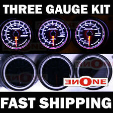 Turbo Diesel Truck Gauge Kit 60psi Boost EGT Fuel Pressure