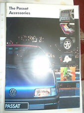 VW Passat Accessories brochure c1992