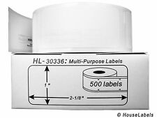 8 Rolls of 500 Multipurpose Labels in Cartons for DYMO® LabelWriters® 30336