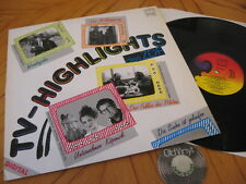 OST Lp TV - Highlights 1986 Happy rec.Taxi Driver Brooklin Wanderjahre Wohin?