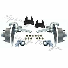 Mechanical Disc Brake HALF Kit - 5 or 6 STUD 4WD Landcruiser Trailer