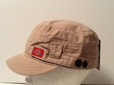 Dickies Hat Fitted Cadet Military Hat Cap Visor Hat Khaki Paintball Outdoors Hat