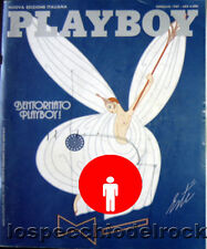 PlayBoy Rivista Gennaio 1987 - Marilyn Monroe  - Rebecca Michele Ferratti