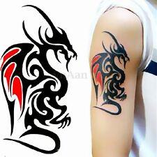 Créative Peint de Dragon Temporaire Amovible Tatouage Corps Art Autocollant