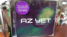 AZ YET - SHE'S MAGIC CD Last Night Better Than Sex R&B Soul One Last Cry