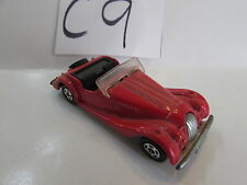 1977 TOMICA MORGAN PLUS 8 SCALE 1:57 MADE IN JAPAN - LOOSE