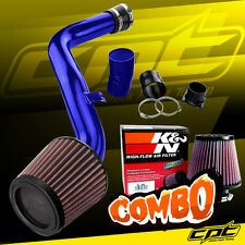 Blue Cold Air Intake + K&N Air Filter For 02-06 Altima 3.5L V6