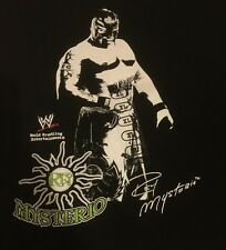 Rey Mysterio Wwe Black T Shirt New With Tags Wcw Tna Eve Aaa lucha libre 619
