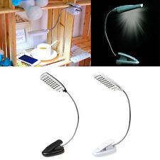Flexible USB 28 LED Light Clip On Bed Table Desk Lamp Reading light White Bid