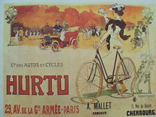 PUBLICITE HURTU AUTOS ET CYCLE TIRAGE 20 EME