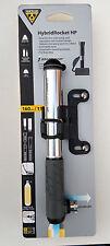 Topeak Hybrid Rocket HP Pump  w/16g CO2 cartridge Bike Tire Inflator for PV & SV