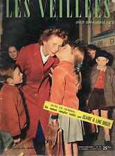 VEILLEES DES CHAUMIERES N° 46 - 1953 - LA CAGE SANS OISEAUX, par C. et L. DROZE