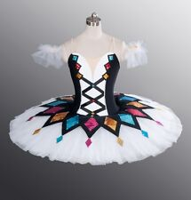 Classical Professional Ballet Tutu Ready Made Harlequinade For Professional Comp