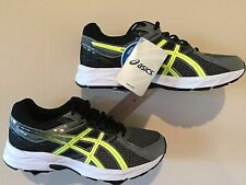 ASICS Men's Shoes Gel Contend 3 Carbon/Flash/Yellow/Black - Size 8 4E Wide