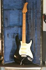 FERNANDES STRAT STRATOCASTER GREAT PLAYER ORIGINAL CASE PROFESSIONALLY SET UP