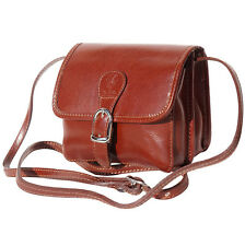 Crossbody Bag Italian Genuine Leather Hand made in Italy Florence 225 br