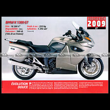 BMW K 1300 GT (K1300GT) 2009 'Evolution douce' - Fiche Moto MJ #079