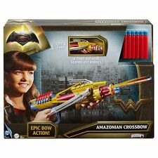 BOOM.co Batman vs Superman Amazonian Crossbow With 6 Darts Quick Fire New
