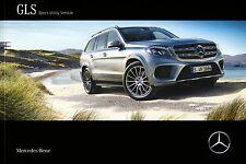 Mercedes GLS Class X166  03 / 2016 catalogue brochure 72p.