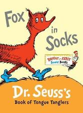 Fox in Socks: Dr. Seuss's Book of Tongue Tanglers Bright & Early Board BooksTM