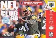 NFL QUARTERBACK CLUB 98 - NINTENDO 64 - GAME ONLY